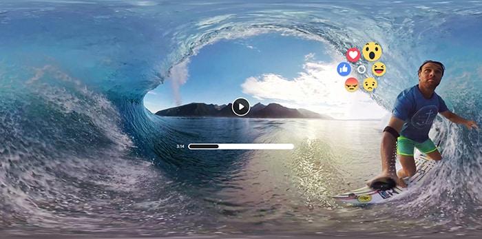 Facebook porterà Reazioni e condivisioni nella realtà virtuale di Gear VR (foto)