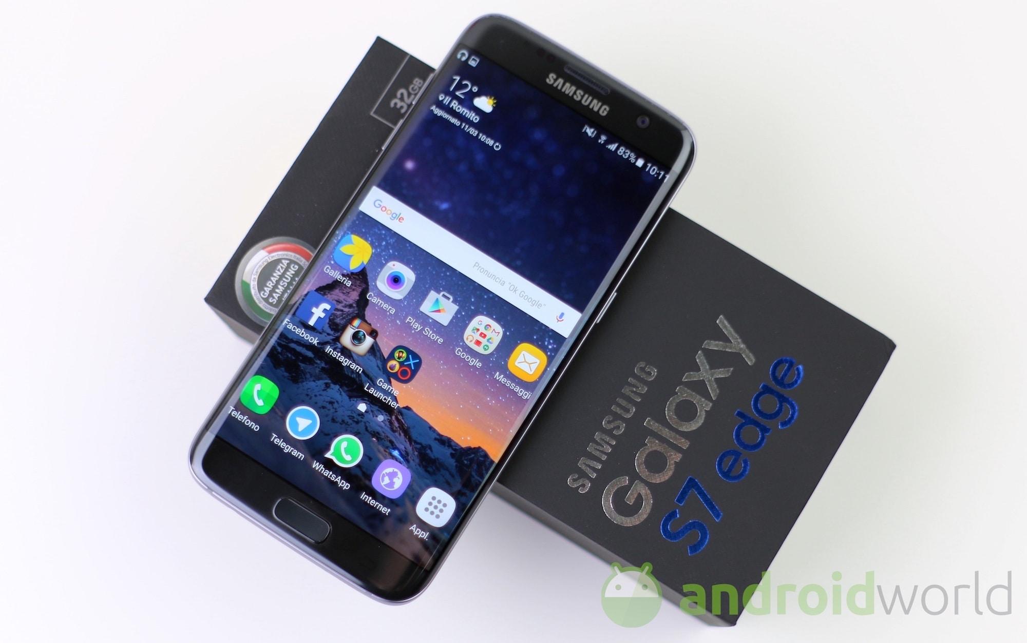 In arrivo l'aggiornamento con le patch di sicurezza di ottobre per Galaxy S7 e S7 edge