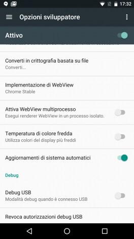 Schermo giallo Nexus 5X - 1