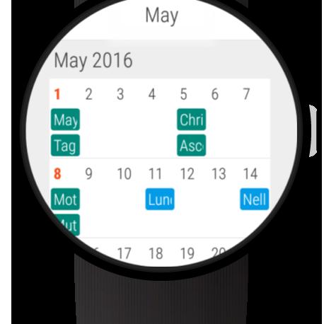 Wear Calendar (head)