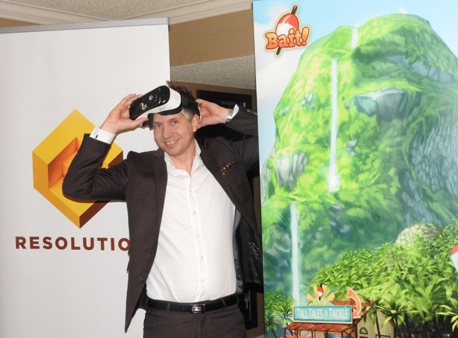 Il creatore di Candy Crush Saga getta l'amo nella realtà virtuale con Bait!, un gioco per Gear VR (video)