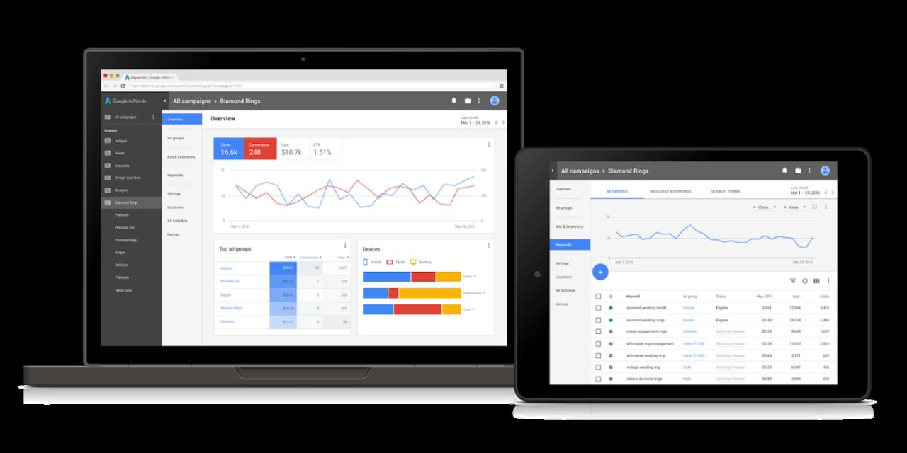 Google mostra il nuovo AdWords, al momento solo su invito