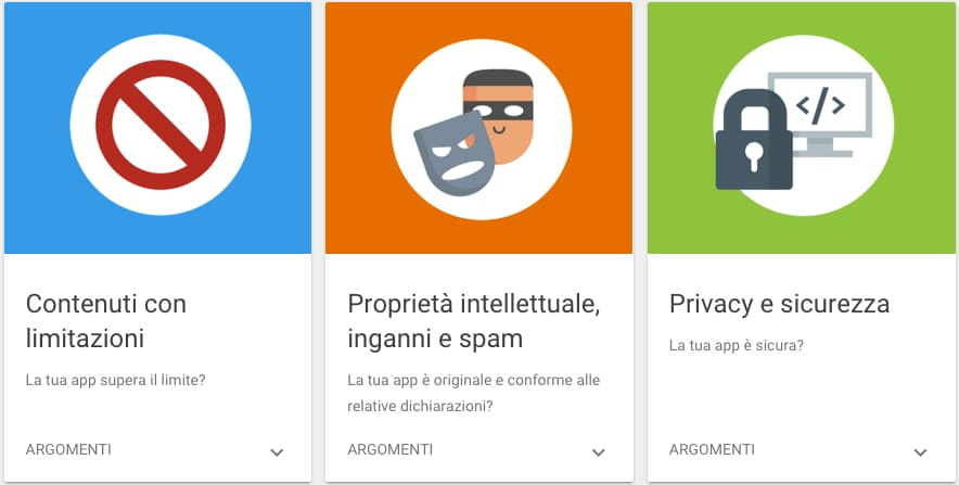 policy play store