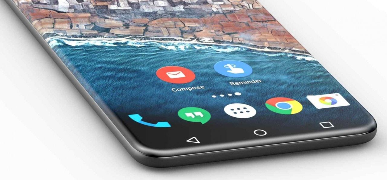 @evleaks stuzzica la nostra curiosità con uno smartphone senza alcun bordo