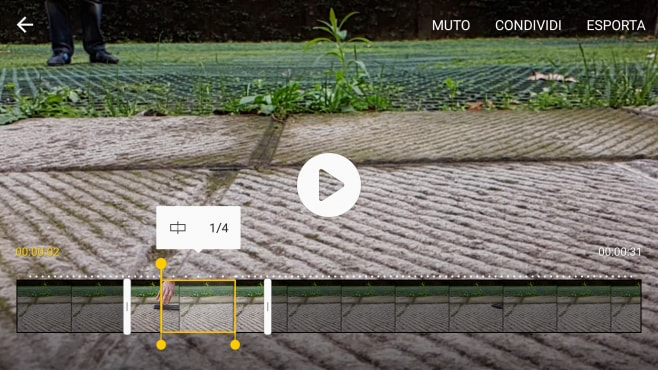 Slow motion Galaxy S7 edge