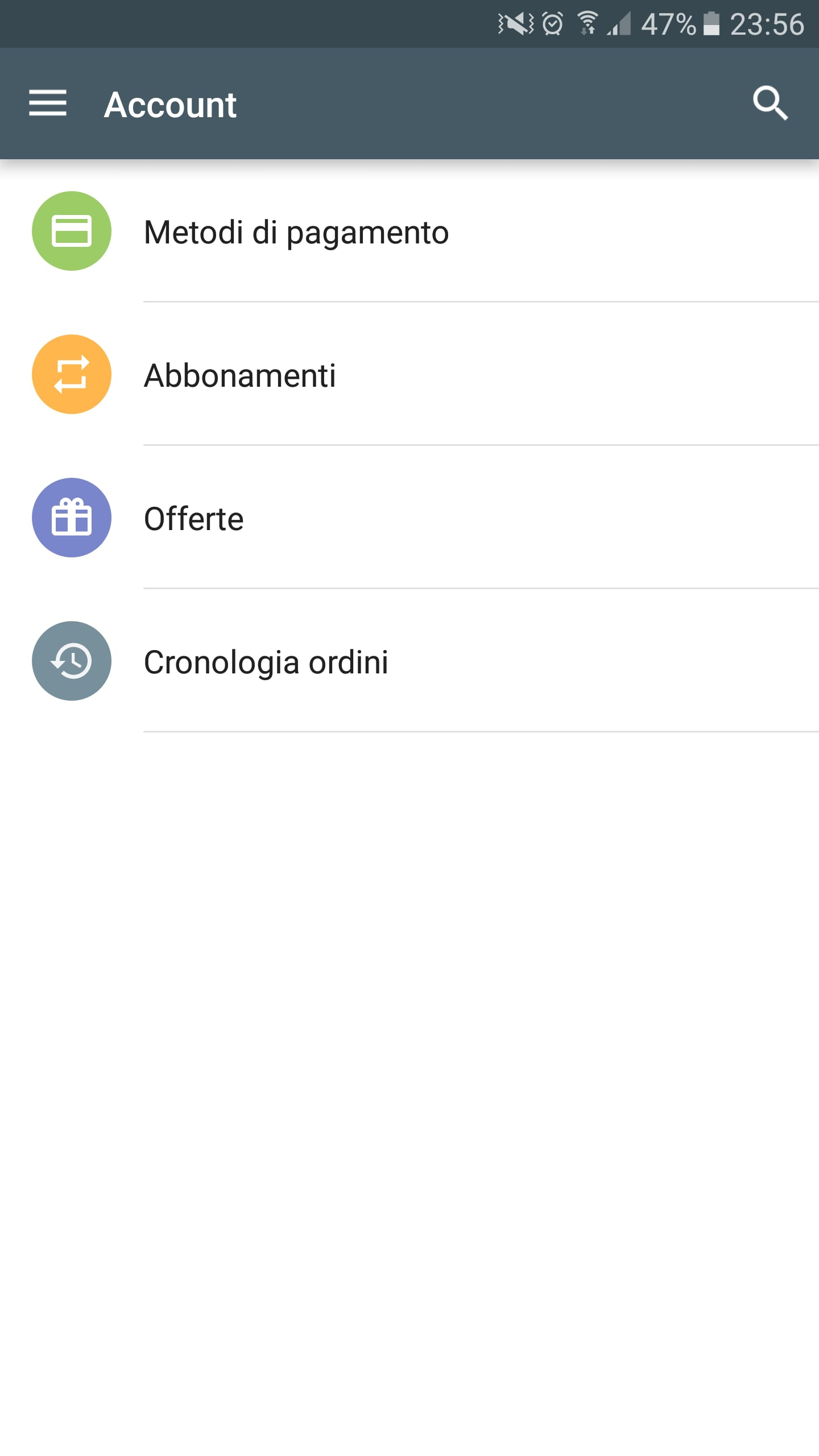 Account Play Store