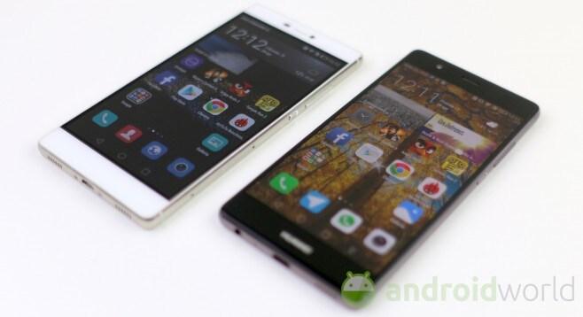 Confronto Huawei P8 - P9 - 4