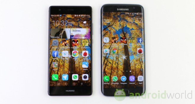 Confronto Huawei P9 - Samsung Galaxy S7 edge - 1