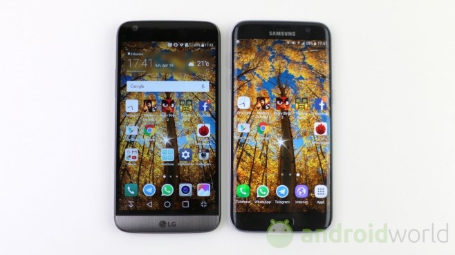 Confronto LG G5 - Samsung Galaxy S7 - 1