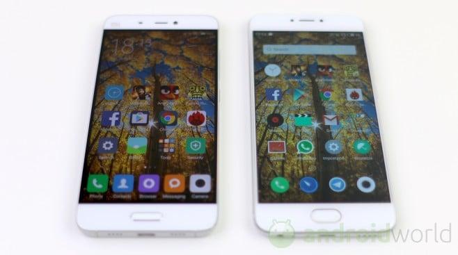 Confronto Xiaomi Mi5 - Meizu Pro 6 - 2