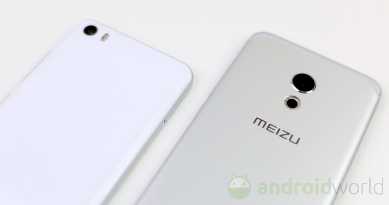 Confronto Xiaomi Mi5 - Meizu Pro 6