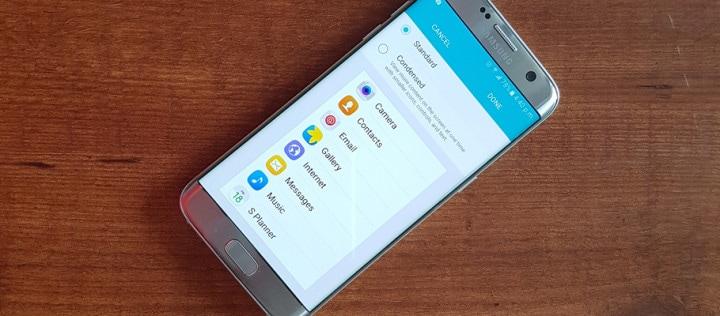 Samsung anticipa Android N: display scaling nell'ultimo aggiornamento di Galaxy S7 / S7 edge