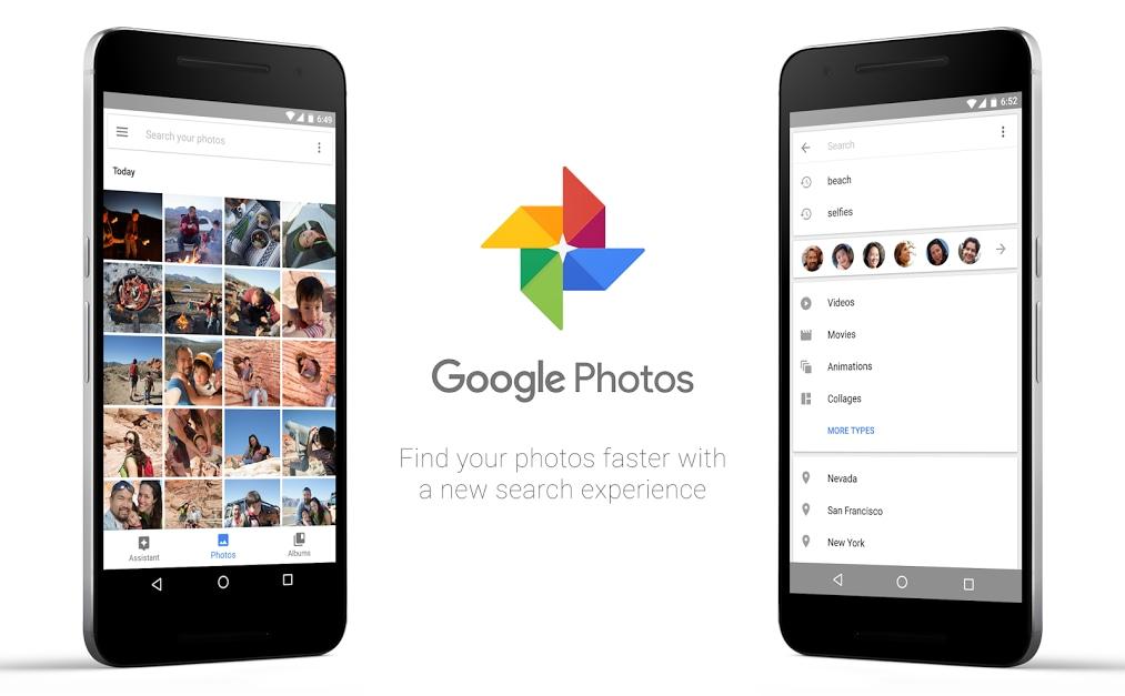 Google Foto 2.8 pensa finalmente anche alle foto sul vostro smartphone