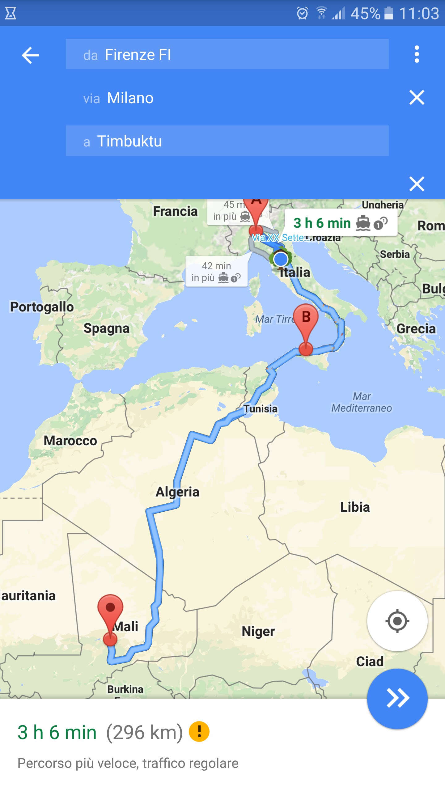 Google Maps destinazioni multiple – 1