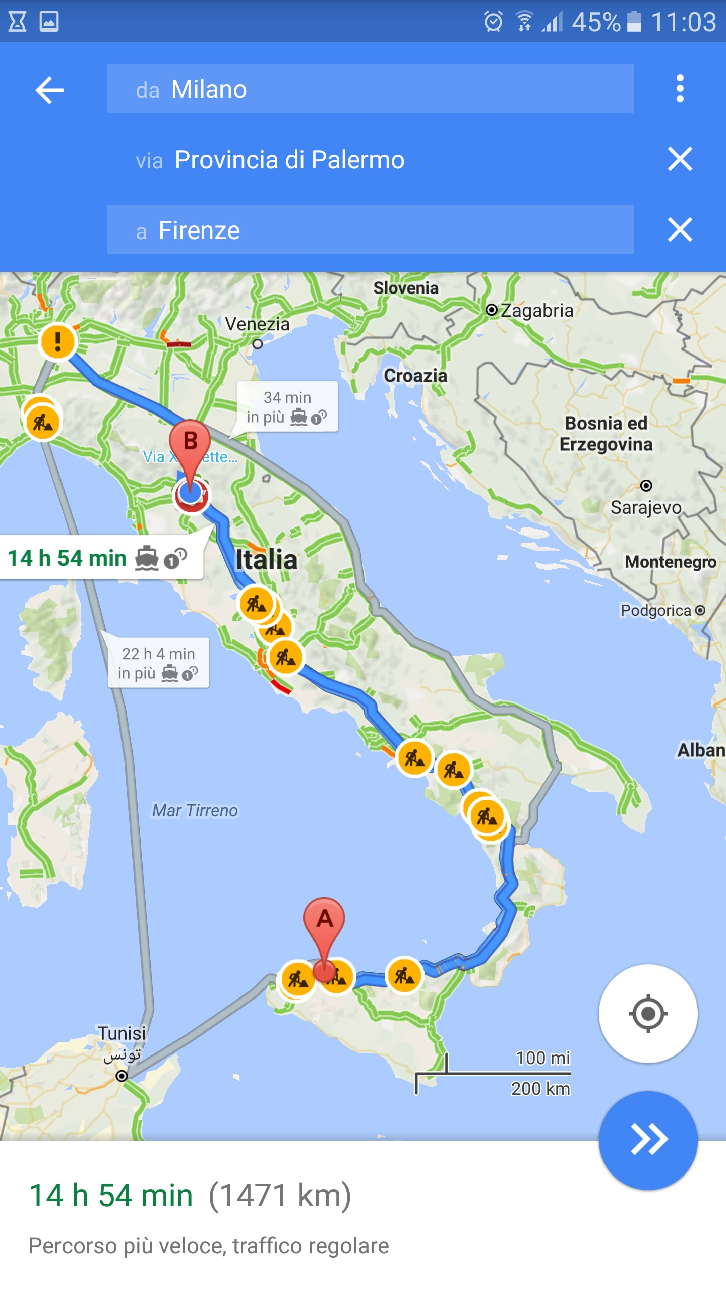 Google Maps destinazioni multiple – 2