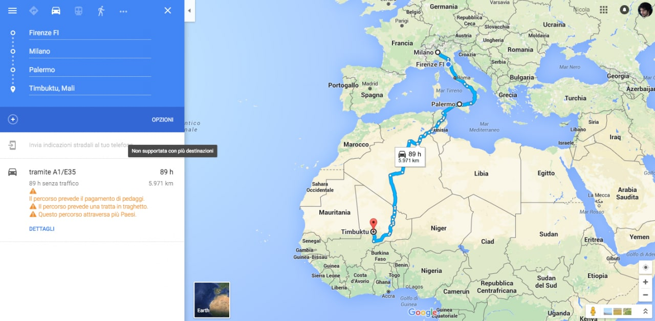Google Maps destinazioni multiple - 3