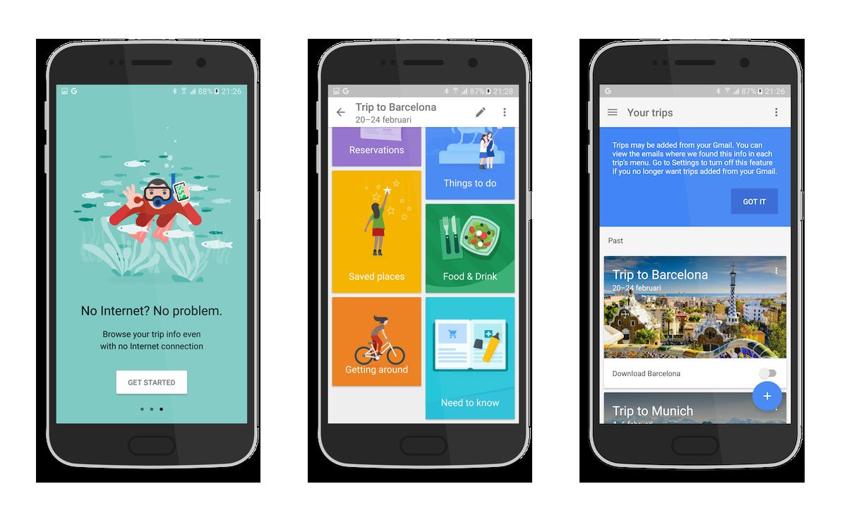Google Trips si aggiorna e permette di aggiungere manualmente le prenotazioni (foto e download apk)
