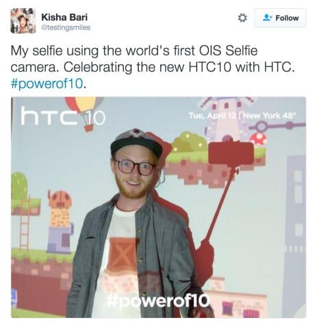 HTC 10 OIS Selfie - 5