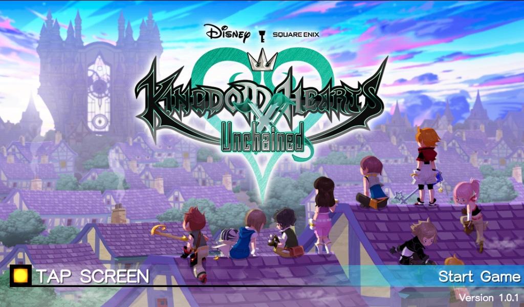 KINGDOM HEARTS Unchained χ Copertina