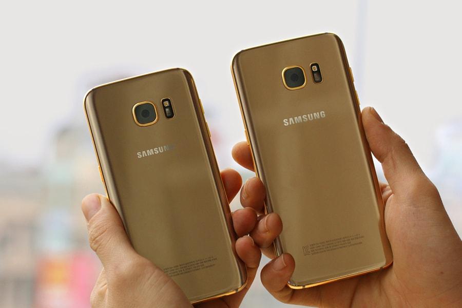 In vena di spese pazze? Prendete in considerazione questi Samsung Galaxy S7 in oro (foto)