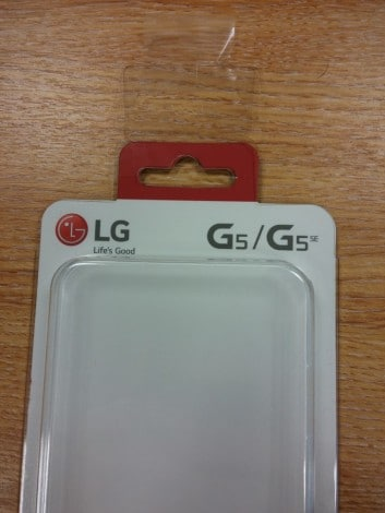 LG G5 SE - Quick Cover - 1