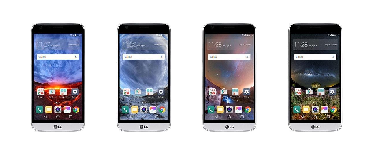 LG G5 sfondo sferico