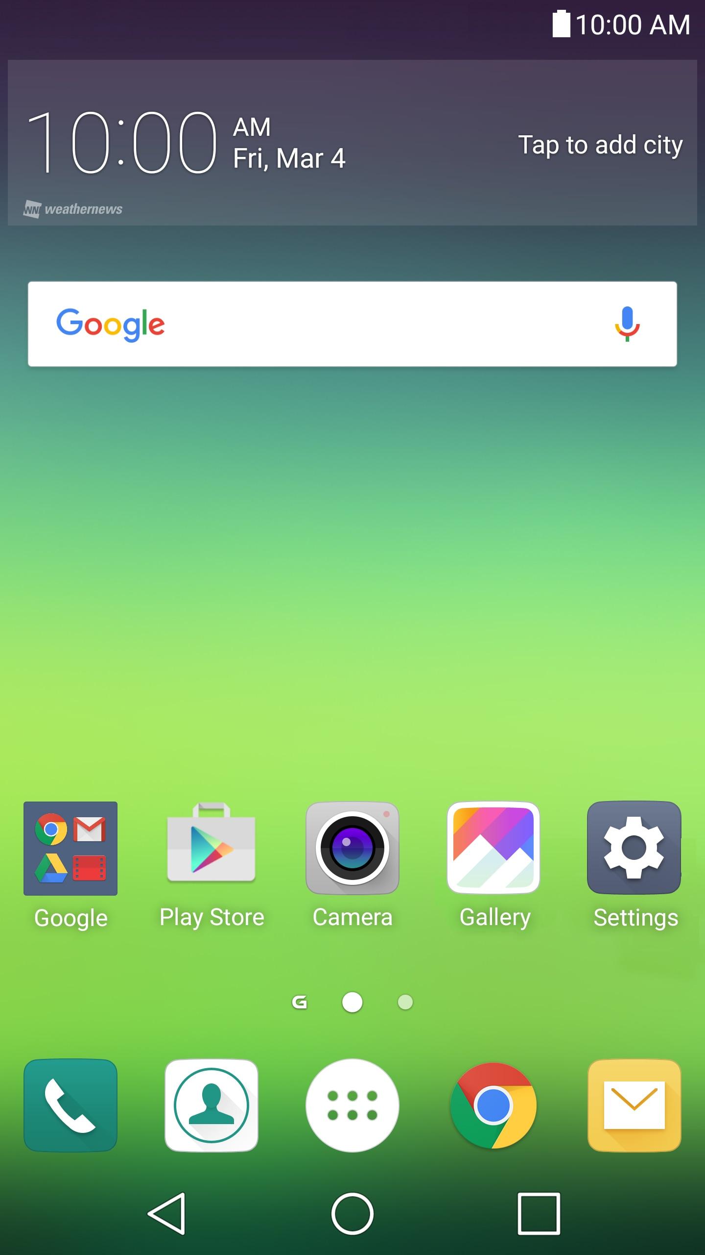 LG Home UX 4.0 – 1