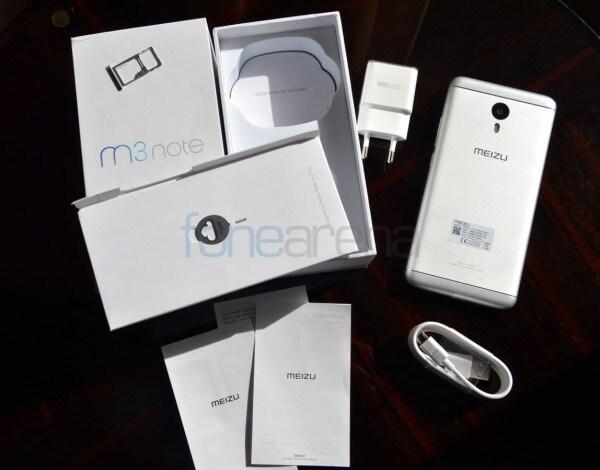 Meizu M3 Note confezione e foto - 1