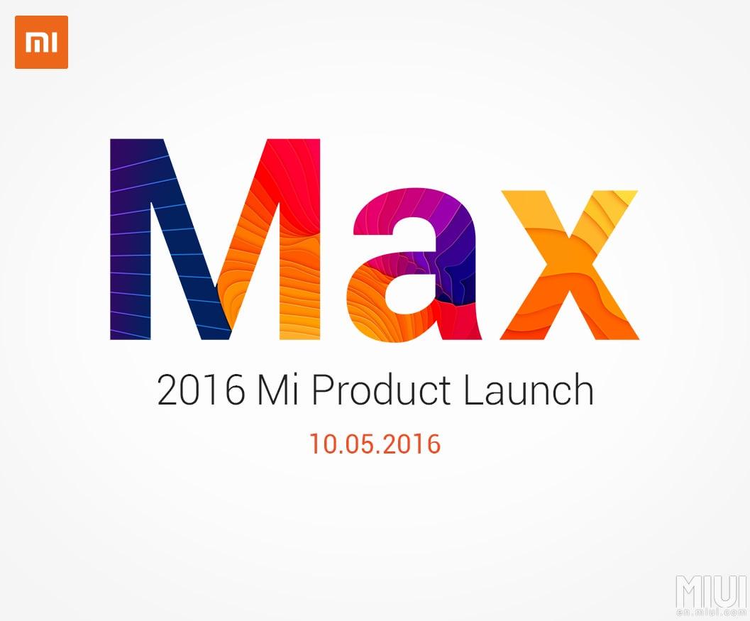 Mi Max teaser