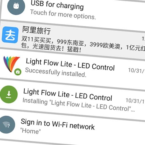 Dal creatore di Greenify arriva Nevolution, l'app per rendere le notifiche versatili e personalizzabili (foto)
