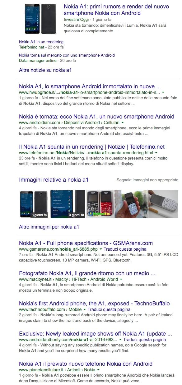 Nokia A1 Google – 3