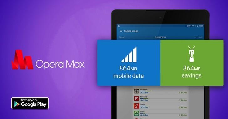 Con Opera Max, il vostro tablet navigherà più velocemente e consumerà meno dati (foto)