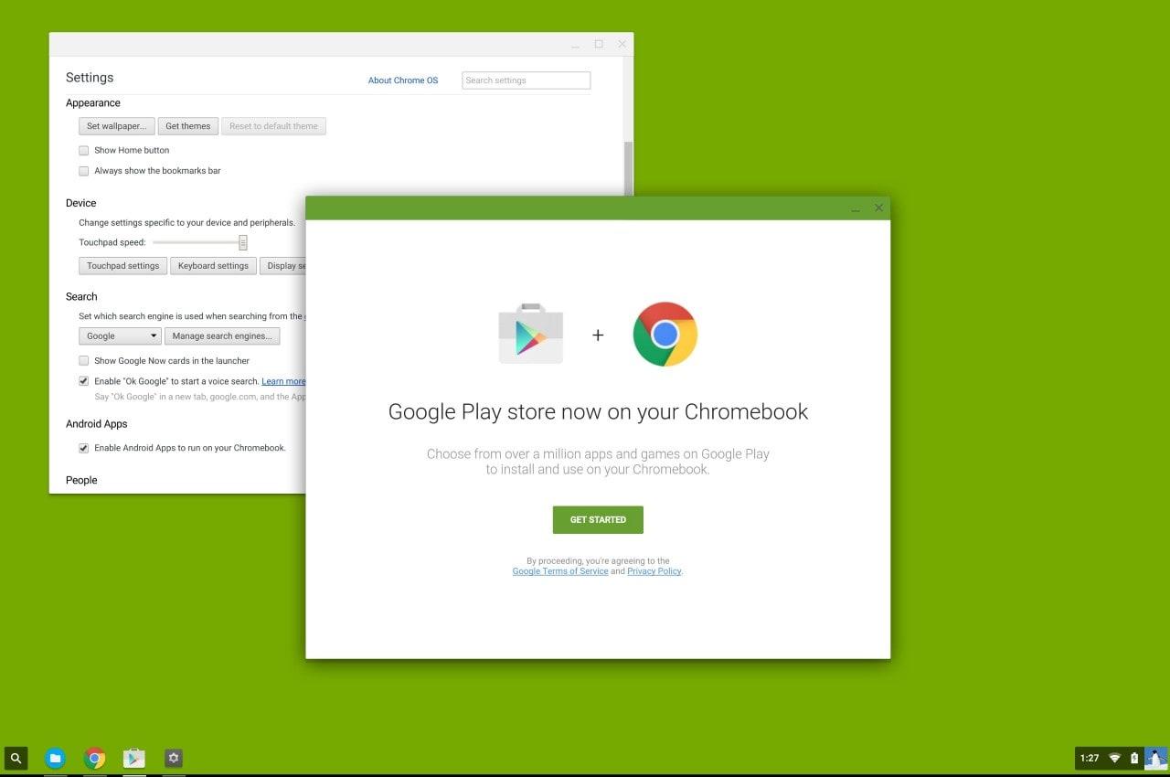 Il Play Store Android è stato avvistato su Chrome OS: lancio ufficiale al Google I/O? (foto)
