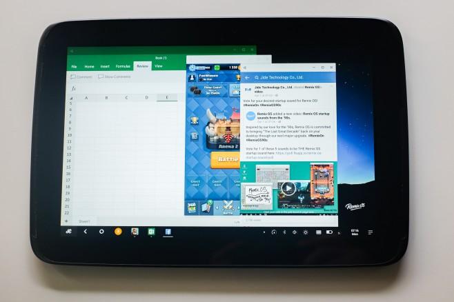Remix OS 2.0 Nexus 10