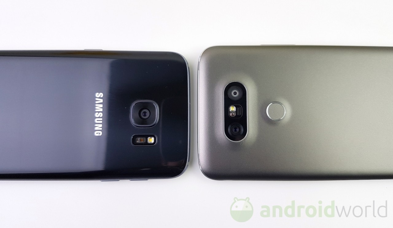 Confronto LG G5 vs Galaxy S7