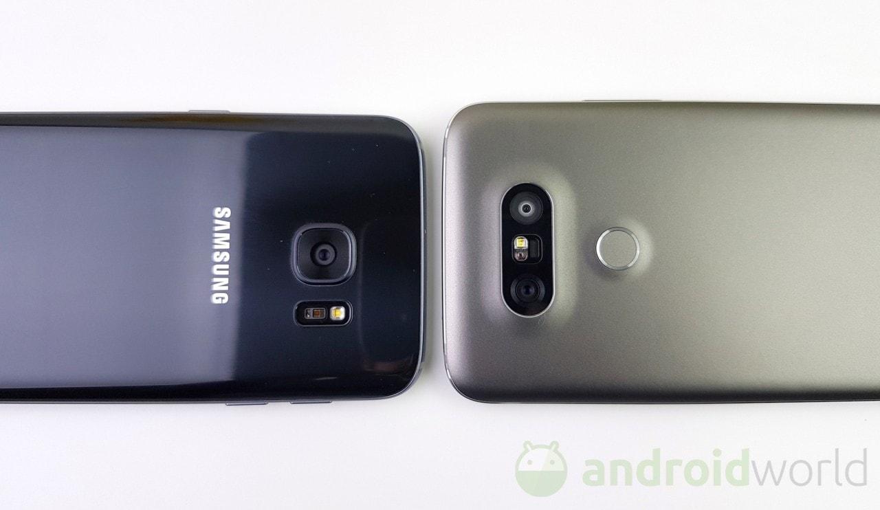 Confronto LG G5 vs Galaxy S7