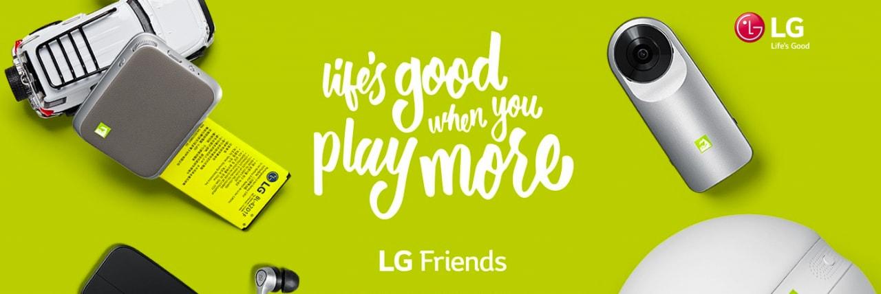 """LG vuole che siano gli sviluppatori a creare nuovi """"amici"""" per G5, e non solo"""