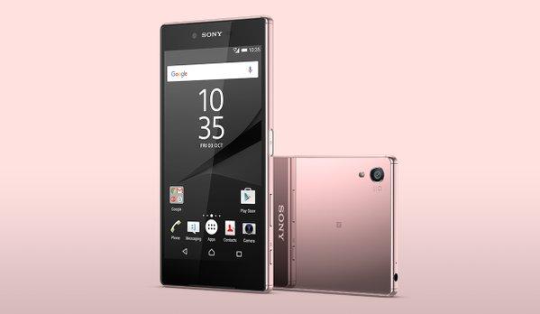 Sony Xperia Z5 Premium si veste di rosa, ma forse la vostra ragazza non potrà averlo (foto)