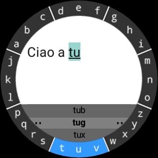TouchOne Keyboard for Android Wear: una comoda e completa tastiera per smartwatch (foto e video)