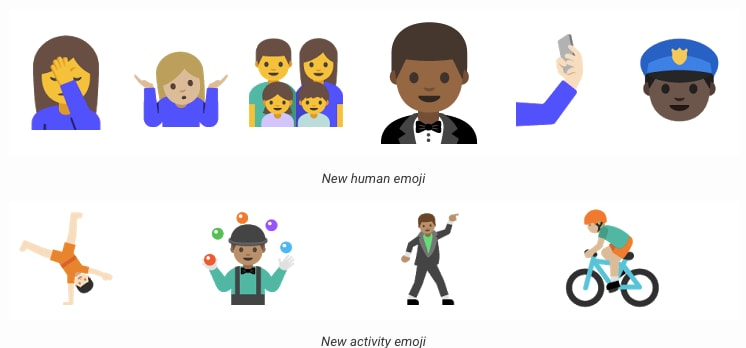 emoji android n dev preview 2