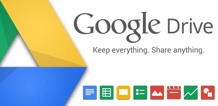 Quante novità nell'ultimo aggiornamento di Google Drive (foto e download apk)