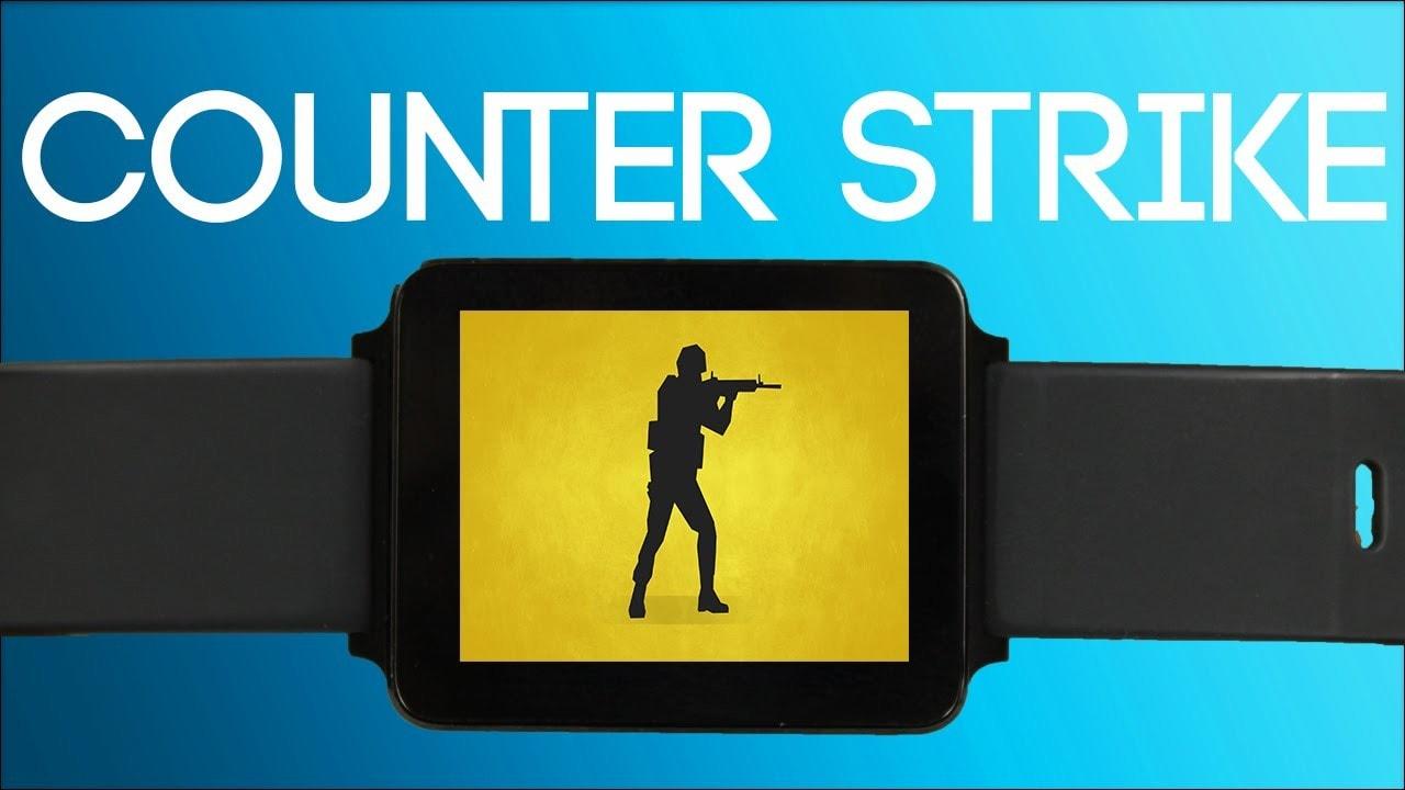Counter Strike eseguito su Android Wear? Qualcuno ci è riuscito! (video)