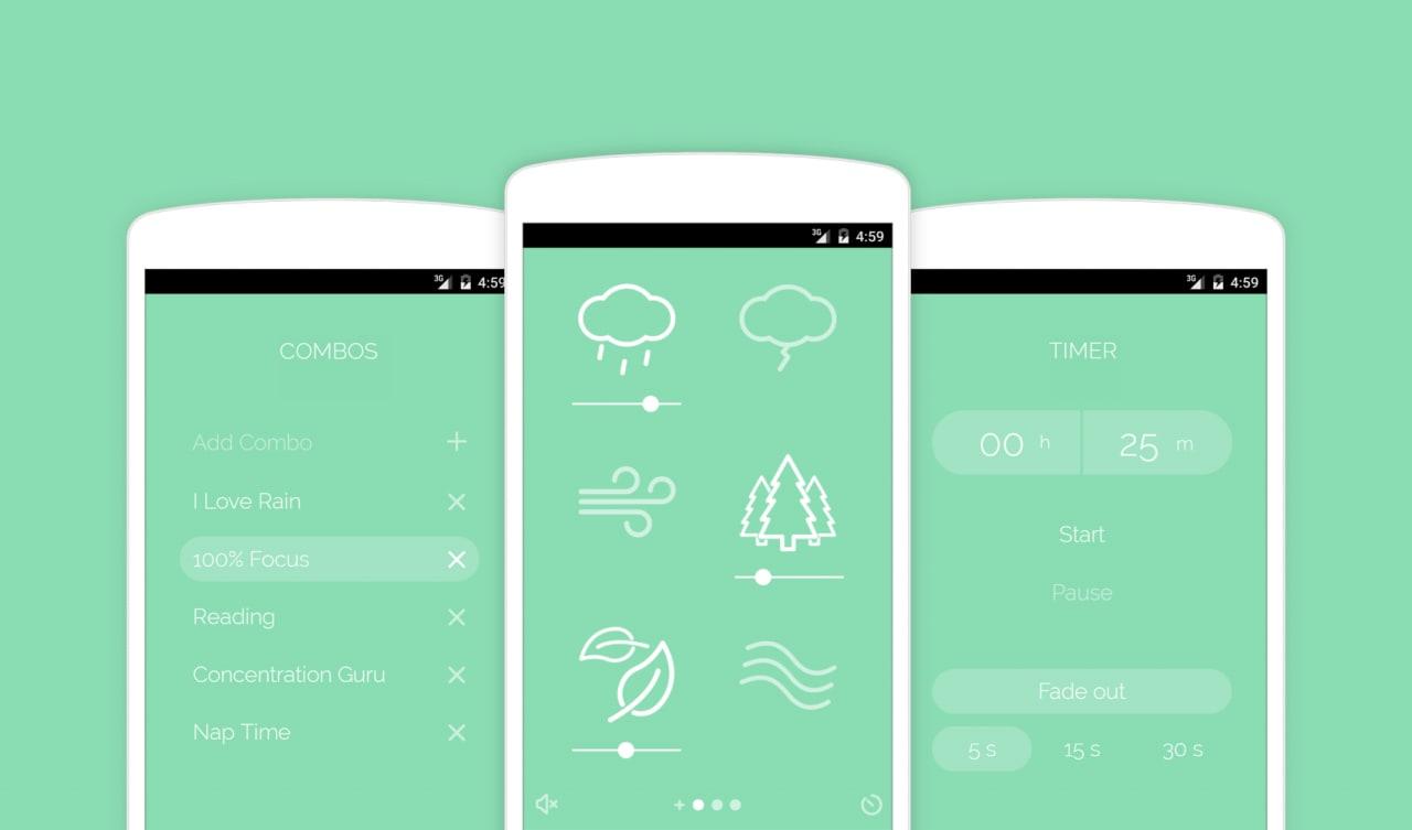 Noisli arriva su Android: la migliore app per restare concentrati? (foto)