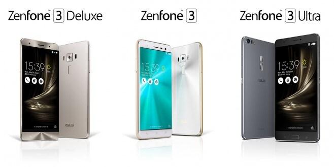 ASUS-ZenFone 3 Family