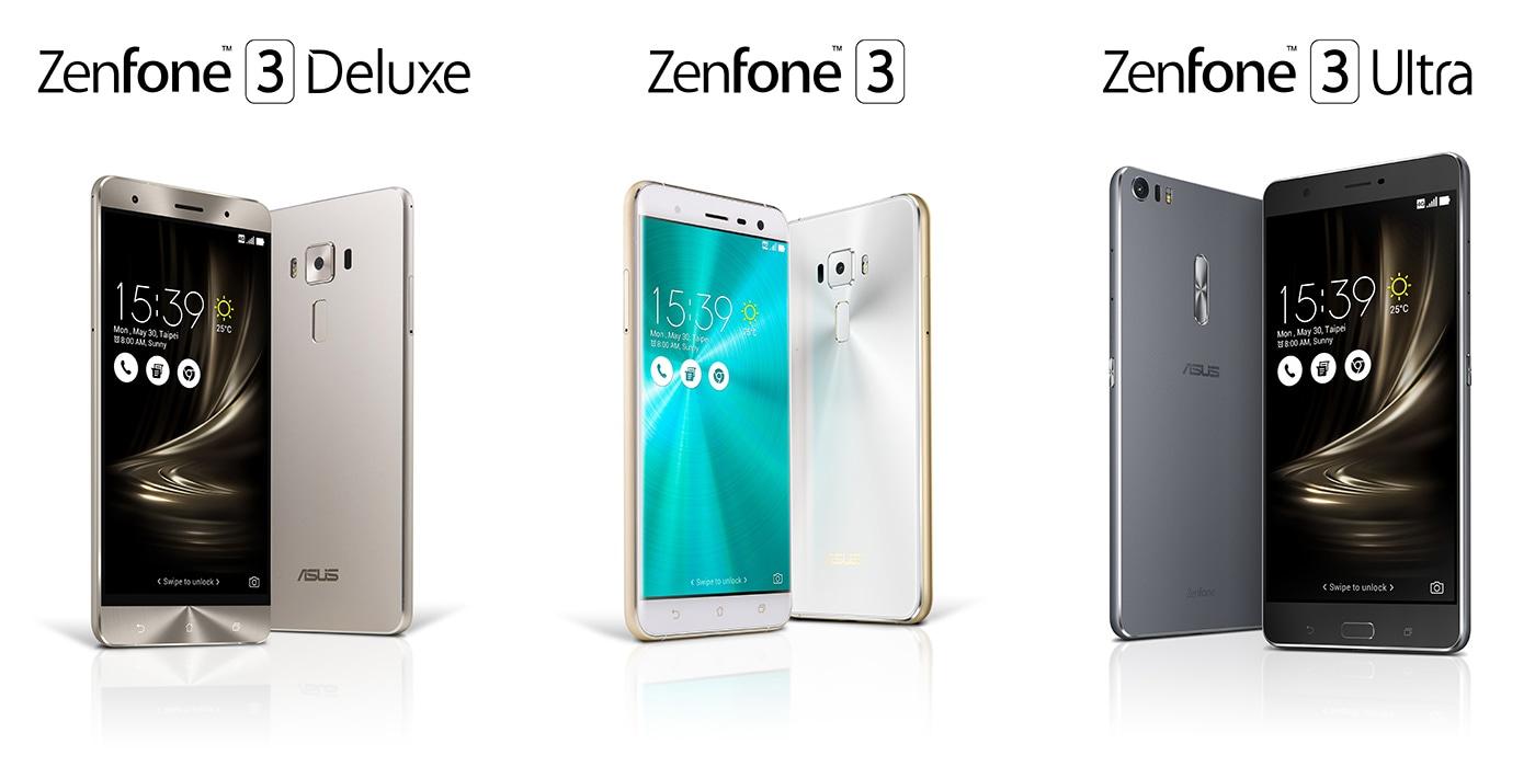 I nuovi ZenFone 3 elevano l'asticella di RAM e storage a livello notebook (prezzi e disponibilità in Italia)
