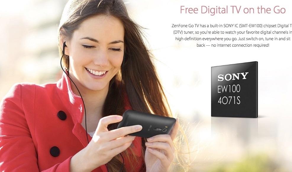 ASUS ZenFone Go TV è un nuovo smartphone il cui nome dice già tutto (o quasi)