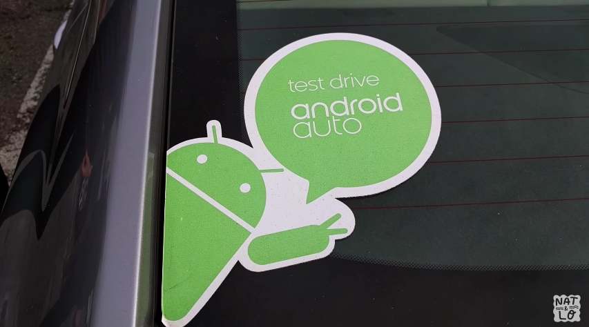 Android Auto Test Drive