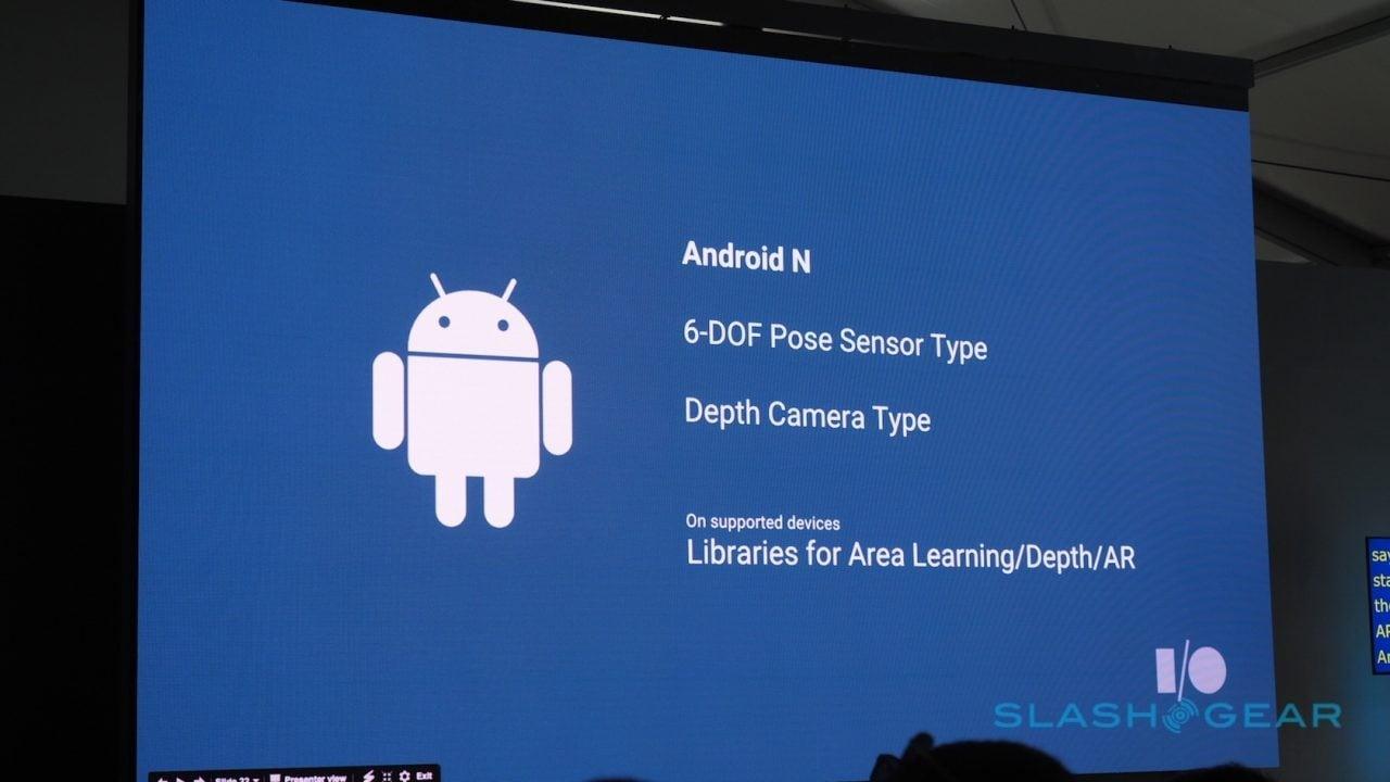 Android N - integrazione Project Tango