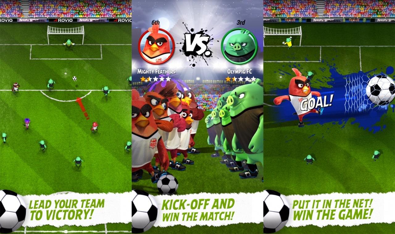 Angry Birds Goal! Copertina