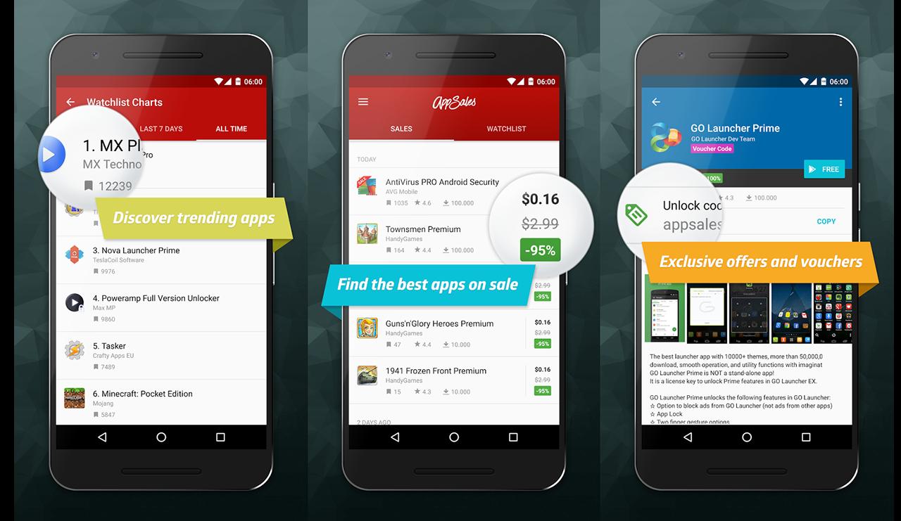 Con AppSales 5.0 è ancora più facile trovare app e giochi scontati su Google Play (foto)